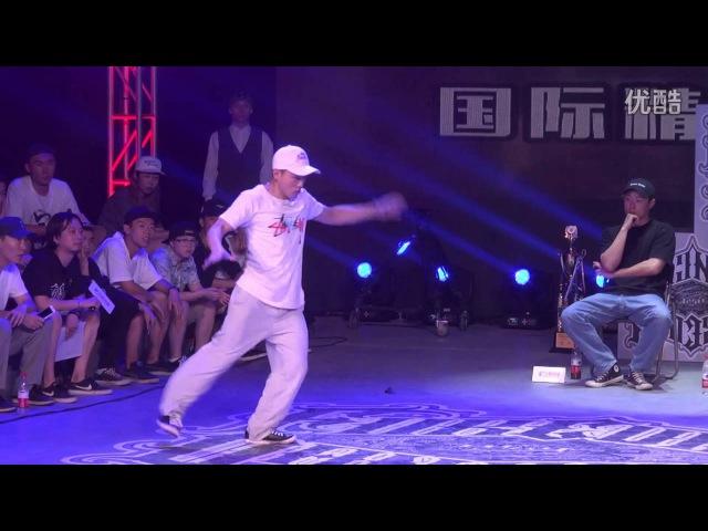 HOZIN VS Shark Bomb 腾仔 (win) | Popping Best 4 | FOREVER DANCER