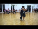 Back Sacada Combinations from Close Embrace | michelle joachim