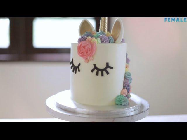 Как задекорировать торт в стиле Unicorn Cake » Freewka.com - Смотреть онлайн в хорощем качестве