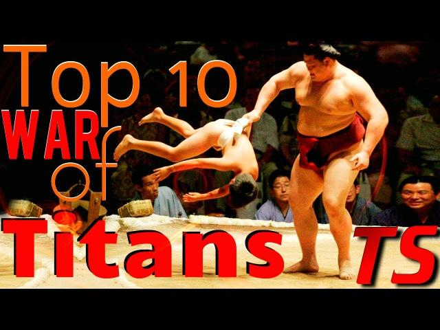 Top 10 WAR of TITANS in Mma Kickboxing Fights