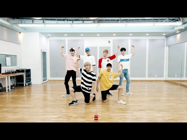 ASTRO 아스트로 - 숨가빠(Breathless) DANCE PRACTICE