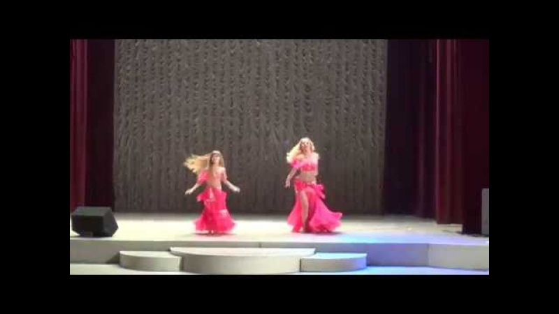 Бухинник Татьяна и Шулешко Мария/дуэт Pro-Am/Raks el Sharky/Студия восточного танца IMPULS