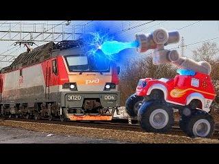Смотреть Вспыш и чудо машинки маленькие Мультфильмы для детей blaze and the monster machines