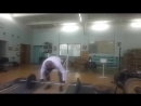 Неудачное взятие на грудь 90 кг. 26.07.2016