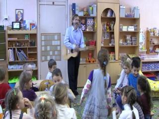 Игра с детками дет. садик №44 Светлячек Мытищи