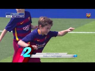 Топ-5 голов академии Барселоны (4-5 июня)