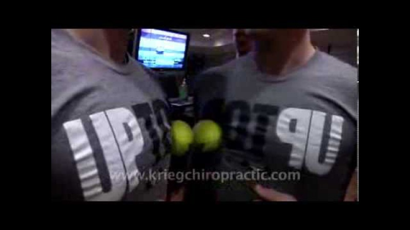Tennis Ball Rolling Exercises for Chest - Missoula Chiropractor Krieg Tip