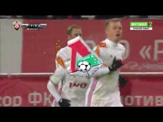 Томь 1:2 Локомотив Мануэл Фернандеш 67'
