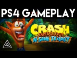 8 минут геймплея Crash Bandicoot: N-Sane Trilogy