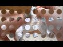 Пинетки на двух спицах Снеговики от Ербягиной Светланы
