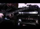 Claudio Pietronik guitar solo composed over Untouchable PART 1 Anathema