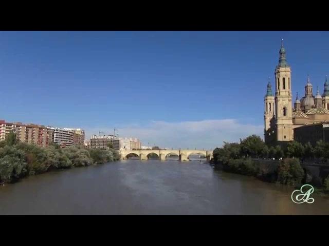 Сарагоса. Испания. Площадь и базилика Пилар.
