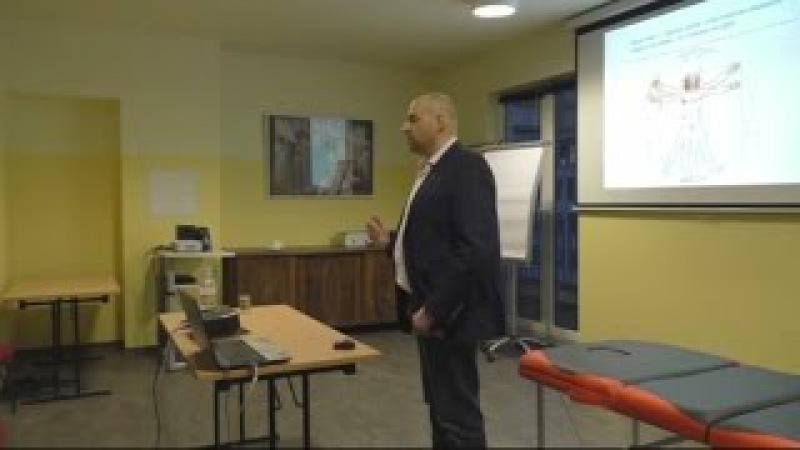 Здоровье и остеопрактика - лекция в Берлине по остеопатии - YouTube