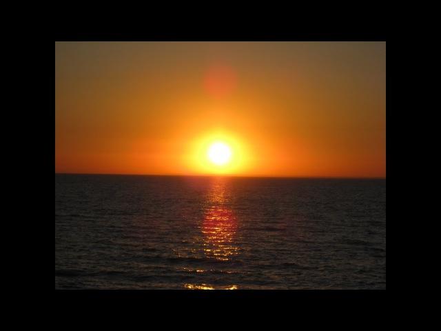 Плоская Земля - Эффект 'заходящего' солнца над поверхн ...