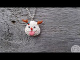Polymer Clay Tutorial   How to make Christmas Poro from League Of Legends