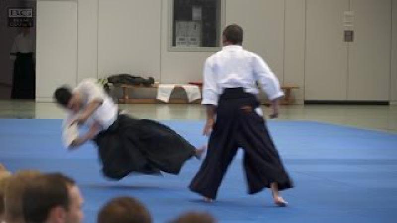 Aikido: Christian Tissier - Kokyonage
