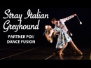Stray Italian Greyhound - Partner Poi Spinning and Dance Flowshow SF 2016