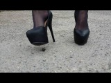 Crush shoes high heel bug !