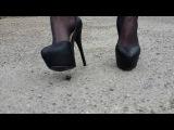 Crush shoes high heel bug !