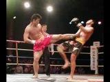 Sanshou KO Karate Kyokushin 85kg (Sanda King - Liu Hailong) Sanshou Wushu Sanda