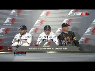 Формула 1 гран при бельгии 2008 видео