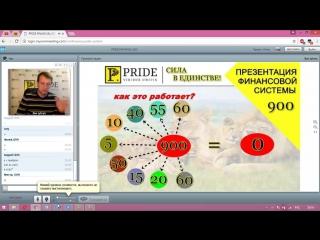 PRIDE G2G вебинар/презентация от 15 декабря 2016 (Игорь Литвин)
