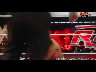 [WWE QTV]Cамці Савців.TheRedbrand[Raw(25.02.2011]Michelle McCool and Layla vs Natalya and Eve Torres]