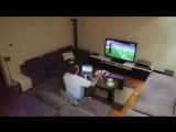 Жена жестко разыграла мужа, который захотел досмотреть матч один