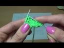 Вязание спицами. Схема ажурного узора Звездочки Knitting. Scheme openwork pattern Sprockets