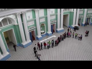 Песенный флешмоб Института филологии в честь Дня рождения МПГУ (2016 г.)