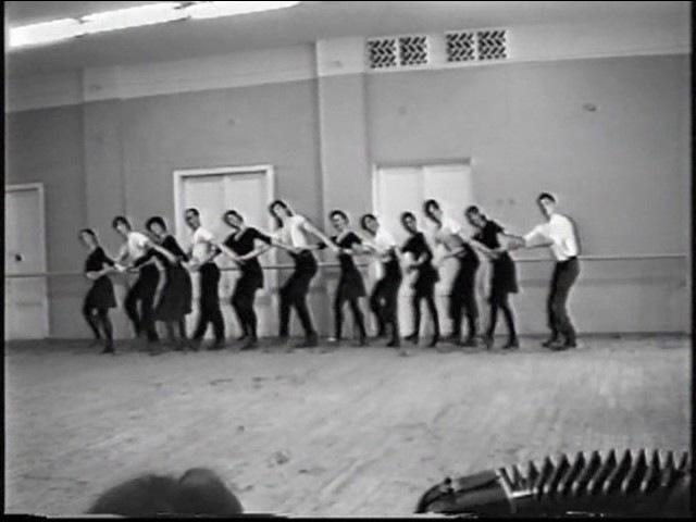 1992 год МГИК Госэкзамен по народному танцу