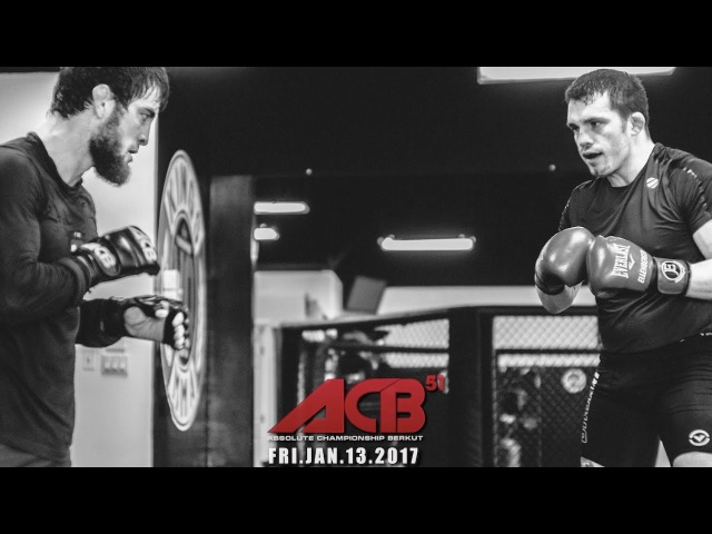 ACB 51 JAN 13 MUSA KHAMANAEV READY FOR BATTLE
