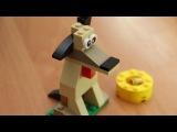 Собираем собаку из конструктора Лего Классик 34 элемента Dog from Lego Classic 34 bricks 乐高玩 ...