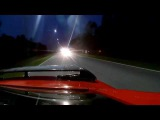 Nissan GTR vs TOYOTA Celica# Драг 402метра#Вид с задней камеры.