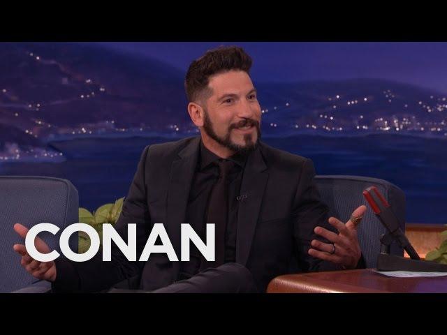 "Seth Green Gave ""Homeless"" Jon Bernthal White Stripes Tickets - CONAN on TBS"