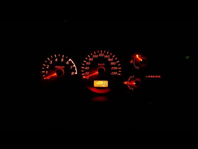 Подсветка ПП Lancer IX в два цвета диммер