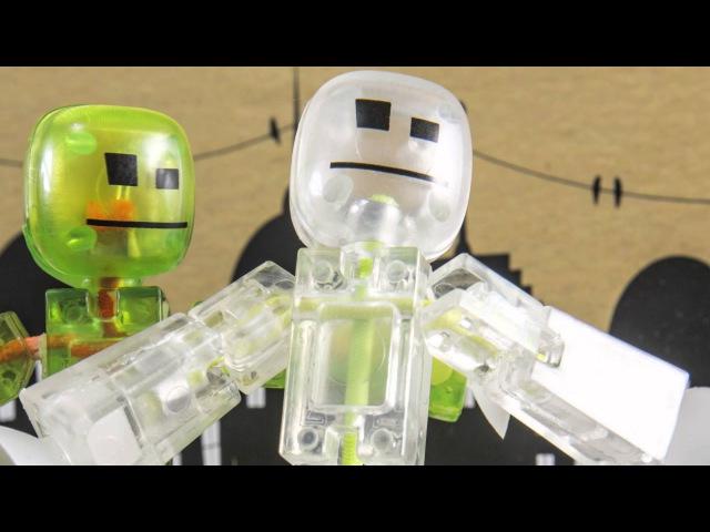 Stik Bot набор для съемки мультфильмов с аксессуарами