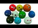 Плейдо сюрпризы открываем игрушки Play Doh Surprises de jouets dargile Playdoh