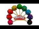 Конфетки с сюрпризом открываем игрушки Surprises cupa chups de jouets dargile Playdoh