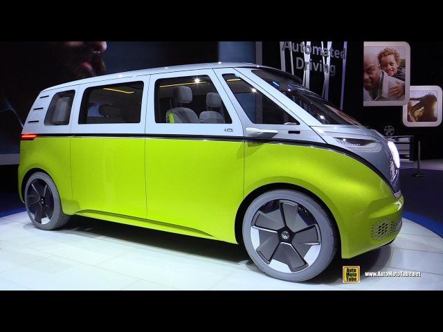 Volkswagen ID Buzz IQ Concept - Turnaround - 2017 Detroit Auto Show