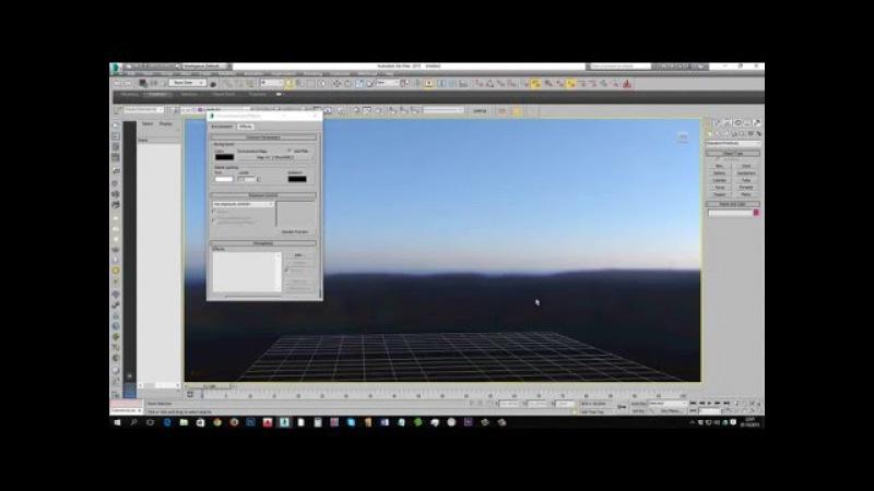 3dmax. загрузка и настройка HDRI для corona render