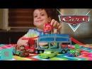Маквин меняет цвет на гонках Машинки мультики Видео для детей Cars toys review McQueen game for kids