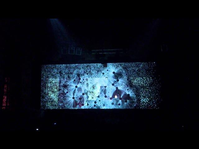 Murcof ANTIVJ Murcof ANTIVJ (Simon Geilfus) av live @ ARMA17 JET 2012