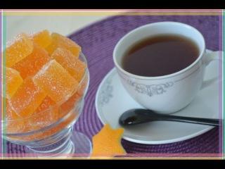 Апельсиновый МАРМЕЛАД. Рецепт. Pate de fruits