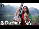 Indian classical music - Kaushiki Chakraborty plays tanpura and sings khayal