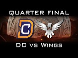 DC vs Wings Quarter Final The International 2016 TI6 Highlights Dota 2