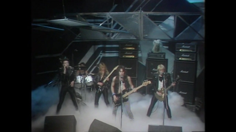 Iron Maiden Women in Uniform Skyhooks Cover Live on Top of the Pops 13 11 80