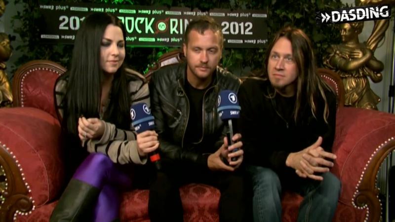 DASDING   15 Fragen an Evanescence (Rock am Ring 2012)
