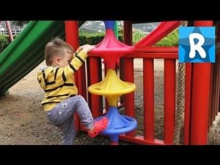 Турция День #5 Купаемся и Идем на Детскую Площадку Смотрим Окрестности Отеля