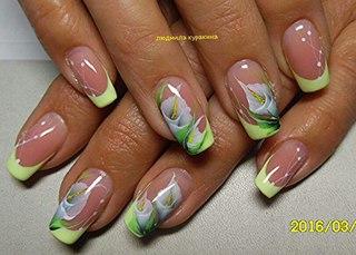 Дизайн ногтей. рисунки на ногтях